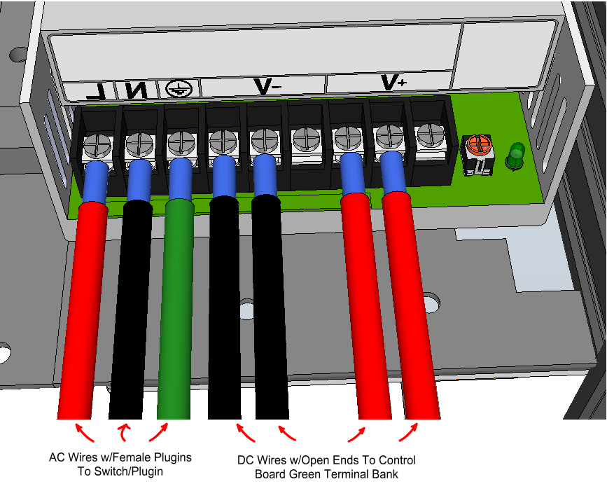 Attach A Black Wire With Female Plugin To The N Egative Terminal Green Ground Do Not Get These Wrong